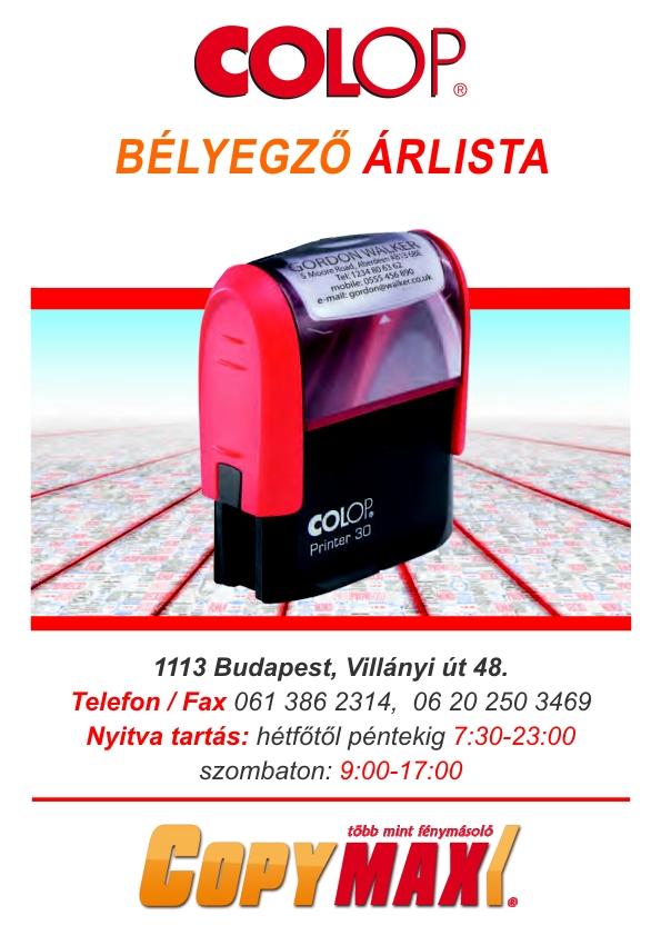 7f9049a5d6 CopyMax - 061-386-2314  fénymásoló-gyorsnyomda-könyvkötészet-szakdolgozat-diplomakötészet. XI ker.  Villányi út 48. alatt. Egy fénymásoló szalon Budapesten ...