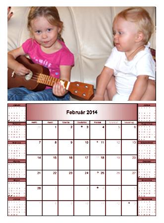 fényképekből naptár COPYMAX | FÉNYKÉPES FALI és ASZTALI NAPTÁR | 386 2314 | Fénymásoló  fényképekből naptár